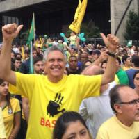 Senador Caiado recebeu doação de R$ 1 milhão de empreiteiras da Lava-Jato